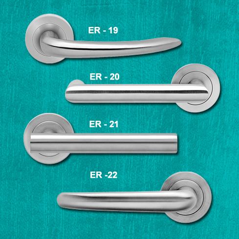 Beautiful door furniture - Karcher handles range 1