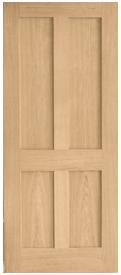 Browse Flat Panel Oak Internal Doors