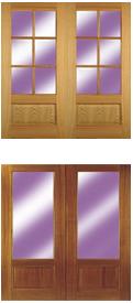 Browse Oak and Meranti Doors
