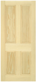 Browse Pine Flat Panel Doors